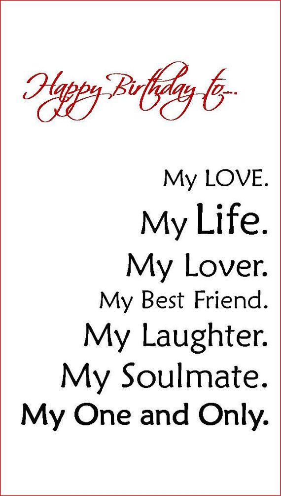 Boyfriend/Fiance/Husband Birthday Card by Linsartwork on