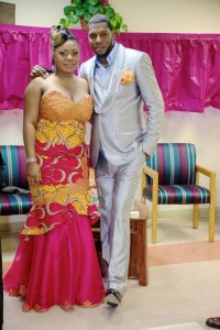 Congolese bride and groom | Traditional African Wedding ...