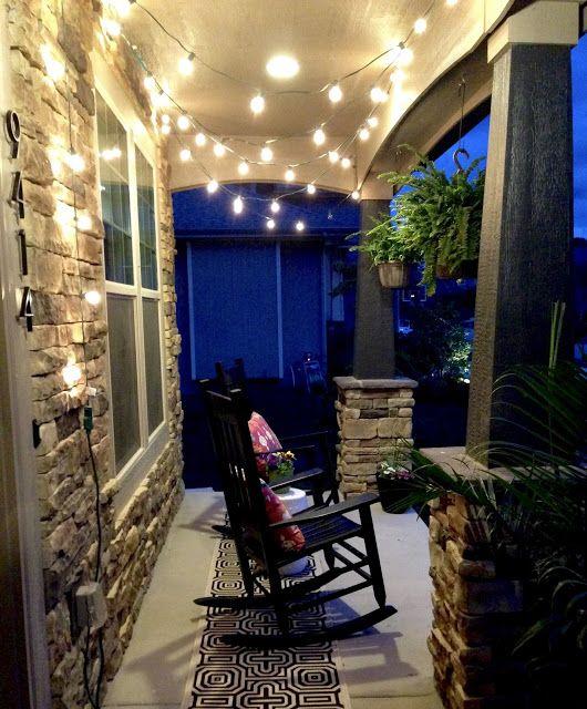 Porch String Lights