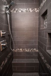 Shower remodel completed by Griffin Construction in ...
