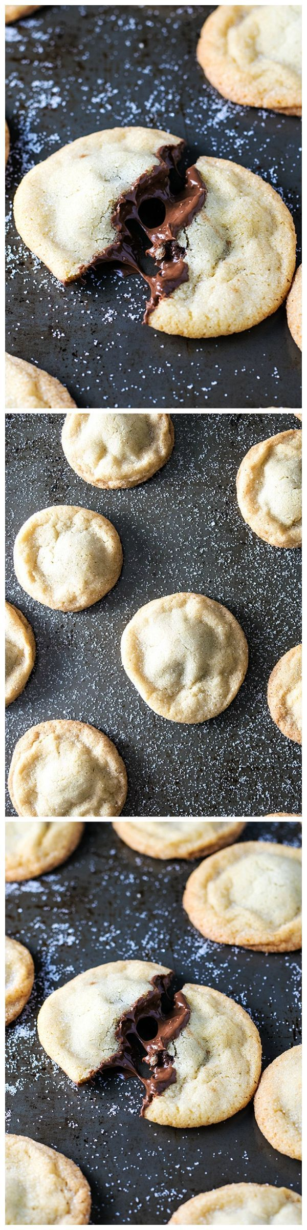 Nutella Stuffed Cookies Old fashioned soft and chewy
