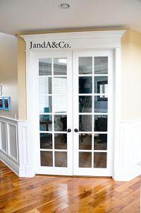 25+ best ideas about Office Doors on Pinterest ...