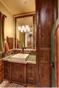 1000+ ideas about Spanish Style Bathrooms on Pinterest