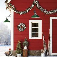 Σκανδιναβικό στυλ Χριστουγεννιάτικης διακόσμησης