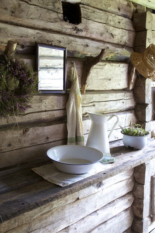 Bathroom Scandinavian country style  Country Life A