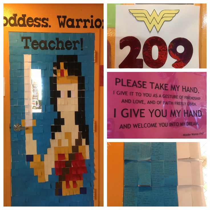 17 Best ideas about Superhero Door on Pinterest