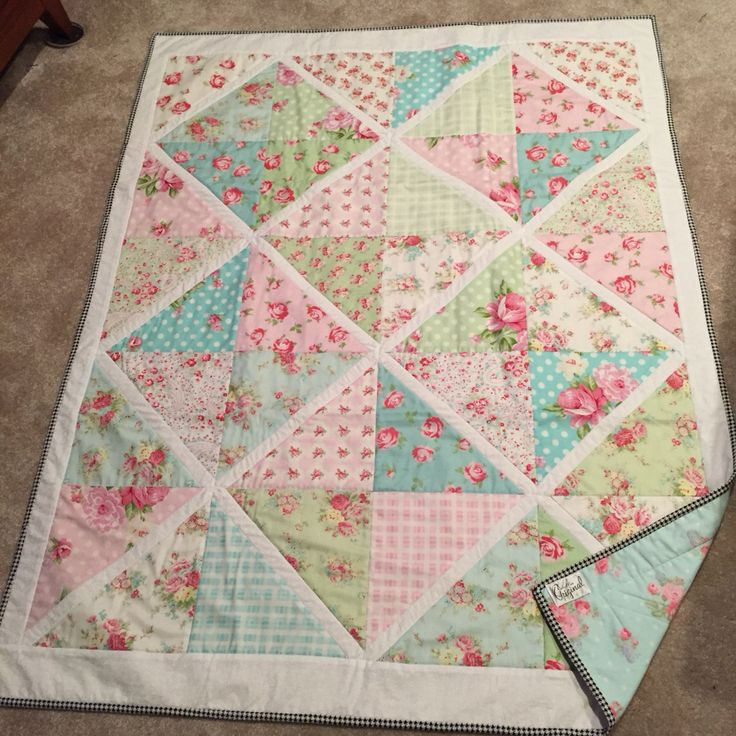 49 best images about Patchwork Shabby Chic Quilt on