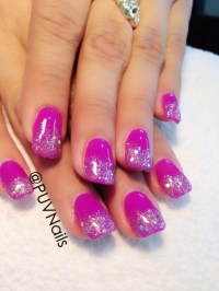 Glitter gel nails design | Nails#5 | Pinterest | Nail ...