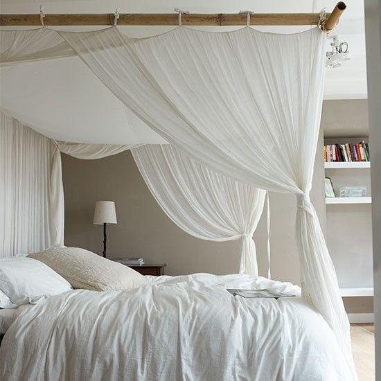 Best 25 Curtains around bed ideas on Pinterest