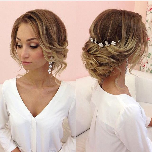 25 Best Ideas About Soft Updo On Pinterest Loose Wedding