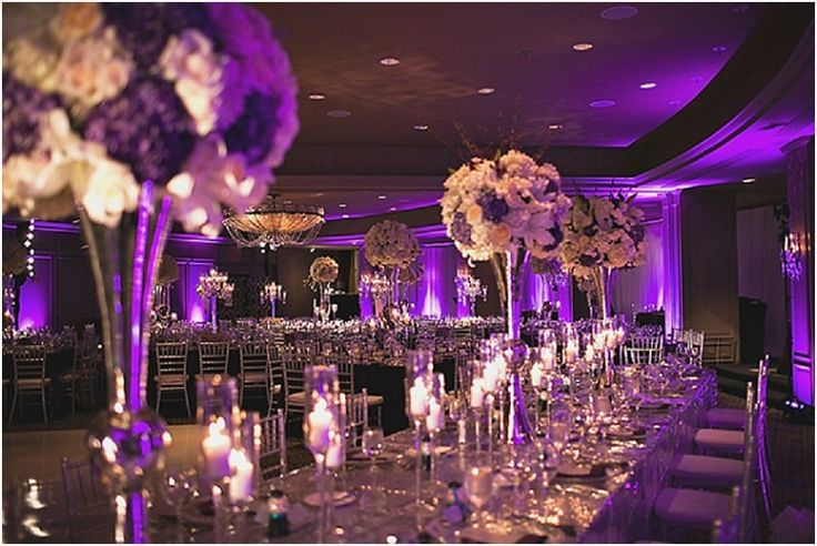 25 Best Ideas about Purple And Silver Wedding on