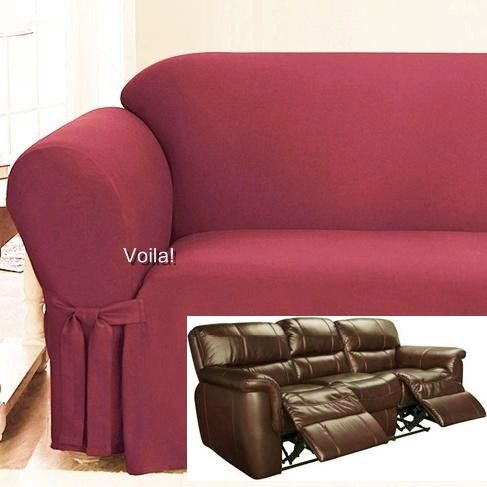 sofa with recliners slipcover ikea karlstad orange 17 best images about 4 recliner couch on ...