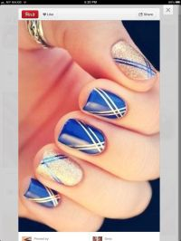 17 Best images about Nail design-foil/strips on Pinterest ...