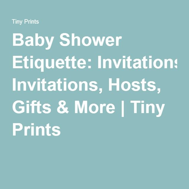 15 Mustsee Baby Shower Etiquette Pins  Baby shower thank you Thank you card wording and