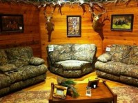 Love the camouflage furniture!! | Guns and Camo ...