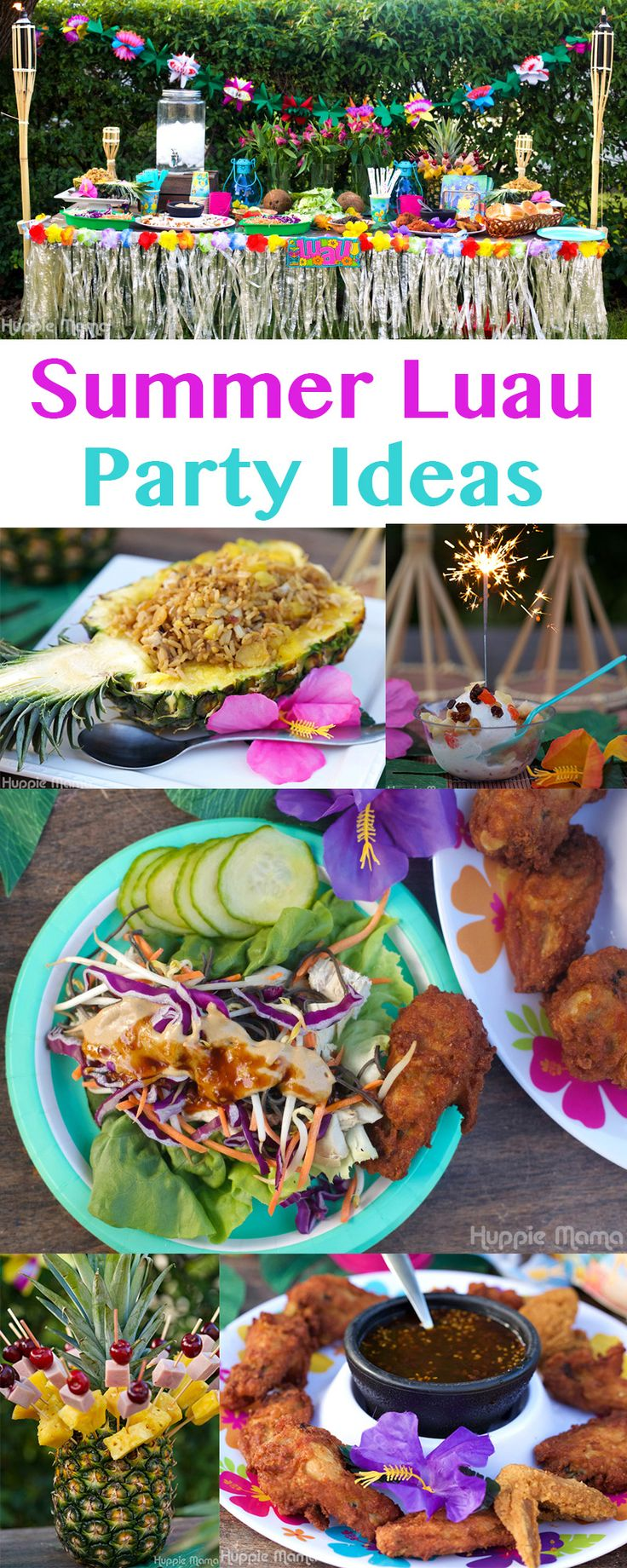 25+ best ideas about Luau table decorations on Pinterest
