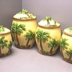 Three Piece Kitchen Sets Ella's Stage 1 Trees, Canister And Queen Palm Tree On Pinterest