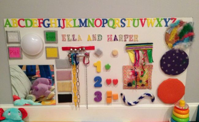 How To Create A Sensory Board For Your Baby And More Easy