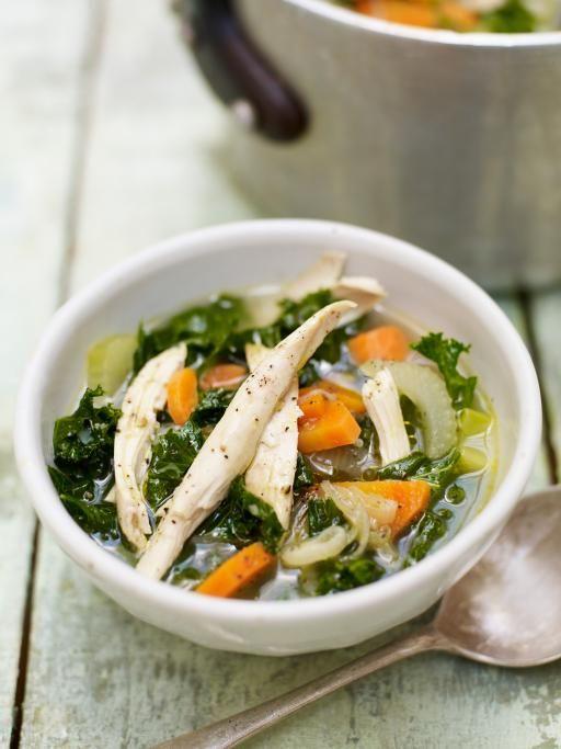 chicken garden soup recipe garden soups and jamie oliver