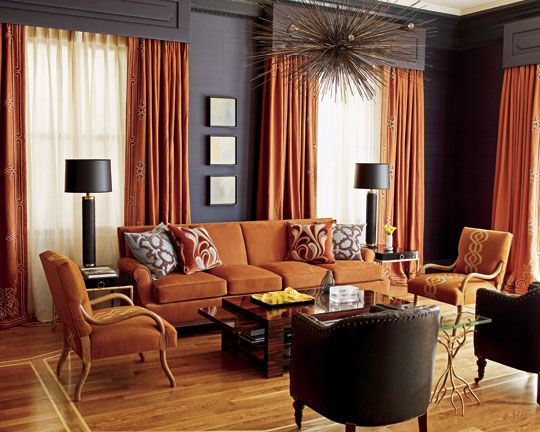 what to put behind a sofa cheap beds 31 best images about rust colored living room decor on ...