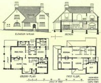 Cool old house plan | Home Ideas | Pinterest | Old houses ...