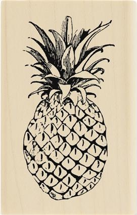 Southern Pineapple Stampor B Family Signature Artsy