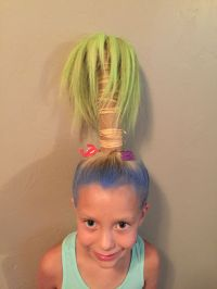 The gallery for --> Crazy Hair Day At School For Boys