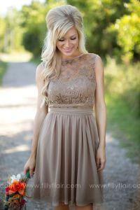 25+ best ideas about Tan bridesmaid dresses on Pinterest ...