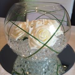 Wedding Chair Cover Hire Northamptonshire Ireland The 25+ Best Fish Bowl Centerpieces Ideas On Pinterest   Centerpieces, Water Beads ...