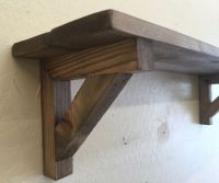 25+ best ideas about Wooden shelf brackets on Pinterest