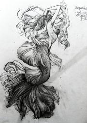 ideas siren tattoo