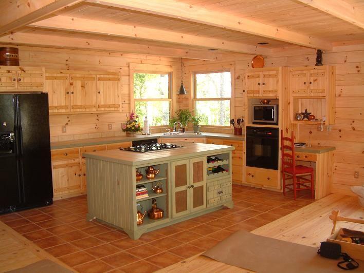 Vintage Rustic Kitchen Cabinets