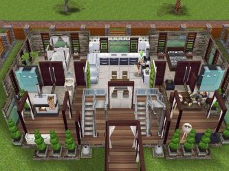 sims freeplay play houses designs level simsfreeplay ground modern styles interior build homes case