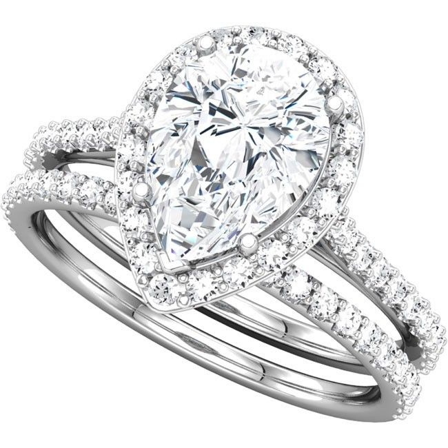 1000+ images about Pear Shaped Engagement Rings on