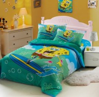 Spongebob Blue Kids Duvet Cover Bedding Sets | kais room ...