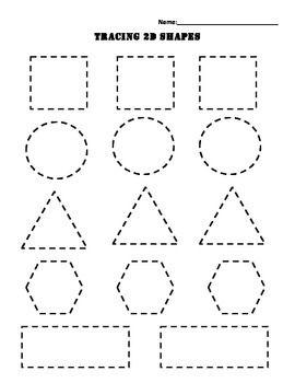 Common Core Kindergarten Shapes This worksheet helps