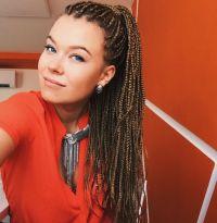 Box braids white girl | Braids | Pinterest | Girls, Boxes ...