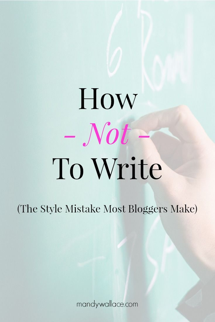 Do you agree with this? Blog posts aren't college essays. They arent news features or billboard signs or technical manuals.
