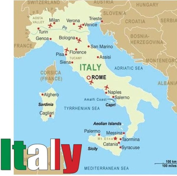 Towns and Cities in Italy Cities in Italy Eat Drink