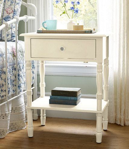 Lakeside End Table Dressers and Nightstand at LLBean  We are getting these too for our