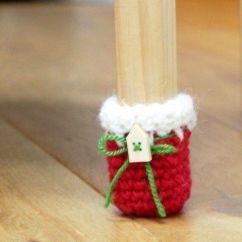 Chair Leg Covers Christmas Kids Desk Pin By Kar Peña On Crochet & Ganchillo | Pinterest Chairs, Socks And Sock