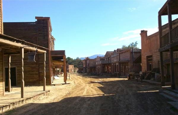 Melody Ranch CA Filming location for Django Unchained