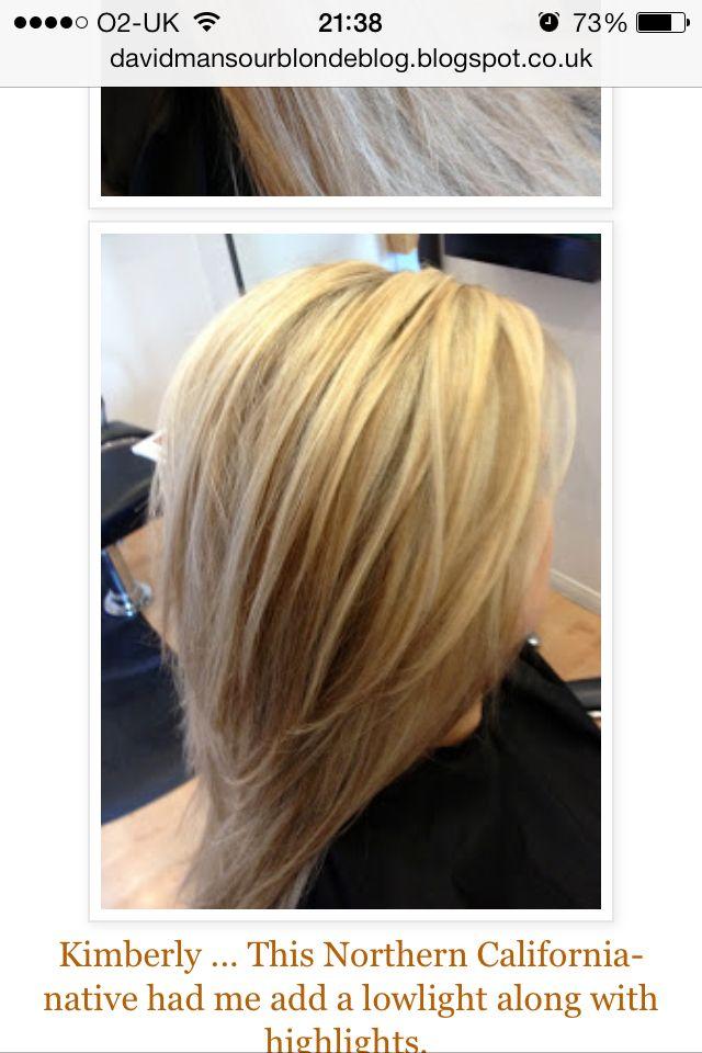 Multi Tonal Blonde Highlights Blonde Hair With Brown