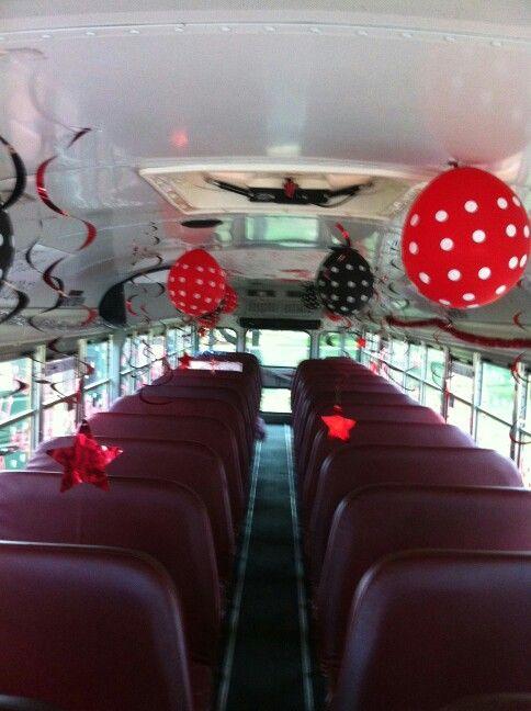 Bus decoratingteam spirit  senior pic ideas  Pinterest