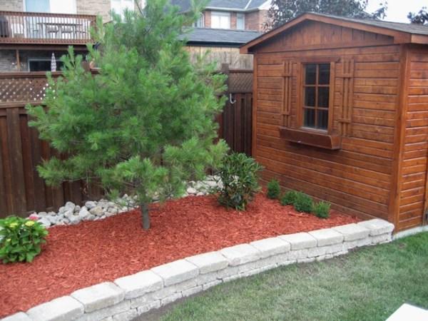 1000 red mulch
