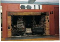 Walk-in Fireplace-very cool | Fireplaces | Pinterest ...