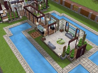 sims freeplay houses designs play plans casas level simsfreeplay dream build ground layouts plan visit cc designed bedroom