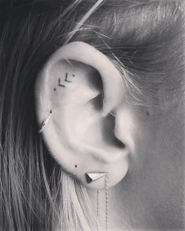 ideas ear tattoos