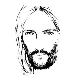 jesus pencil drawings sketch christian face drawing realistic outline pixels christ christianity draw bible stunning cristo artwork line painting dios