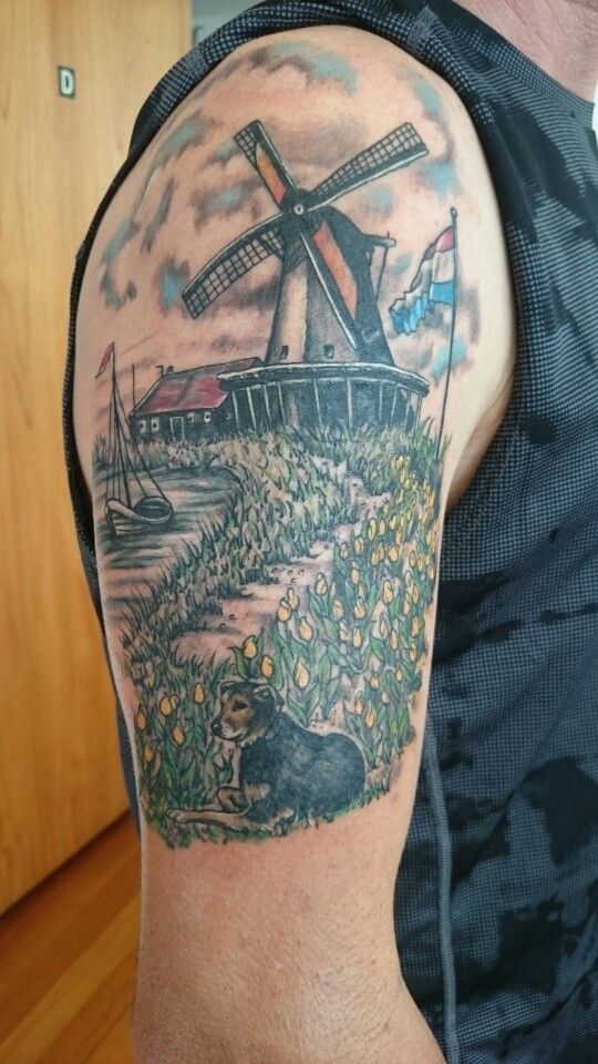 25 best ideas about Windmill Tattoo on Pinterest  Dutch tattoo Farm tattoo and Nebraska tattoo